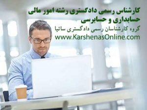 کارشناس رسمی دادگستری امور مالی، حسابداری و حسابرسی