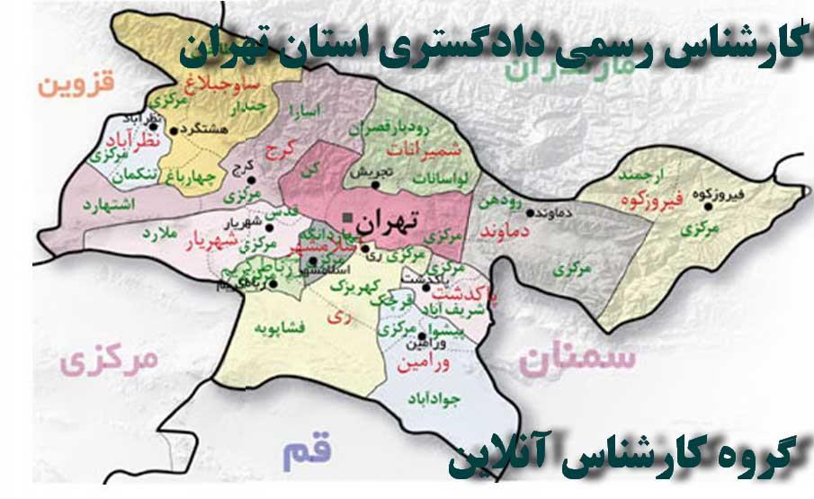 کارشناس رسمی دادگستری استان تهران - کارشناس آنلاین